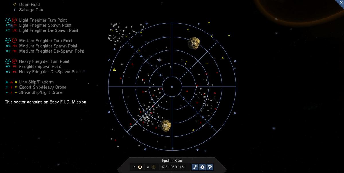 Epsilon Krau 3D System Map