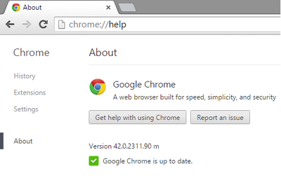 Google Chrome Problem No 01