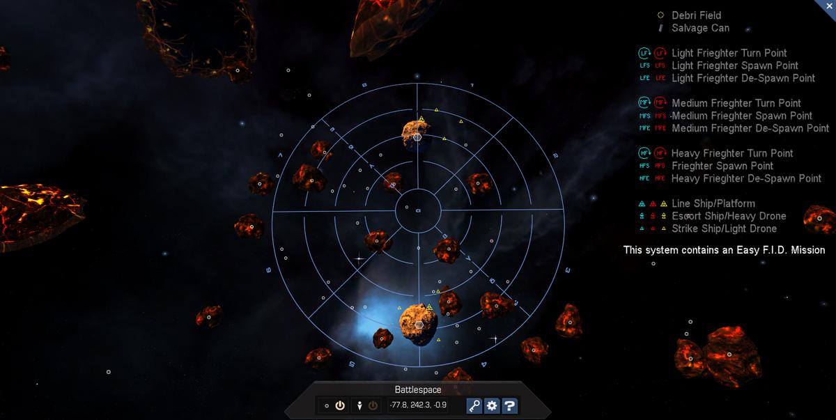 Battlespace 3D System Map