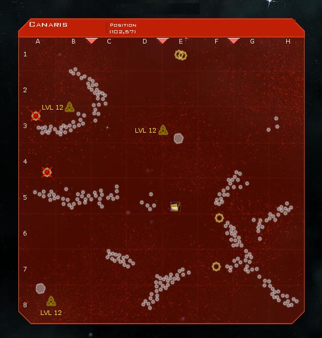 Canaris System Map