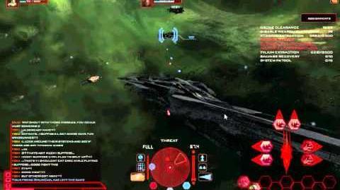Battlestar Galactica Online Yski PvP 1 Hunting with Arrow the Banshee