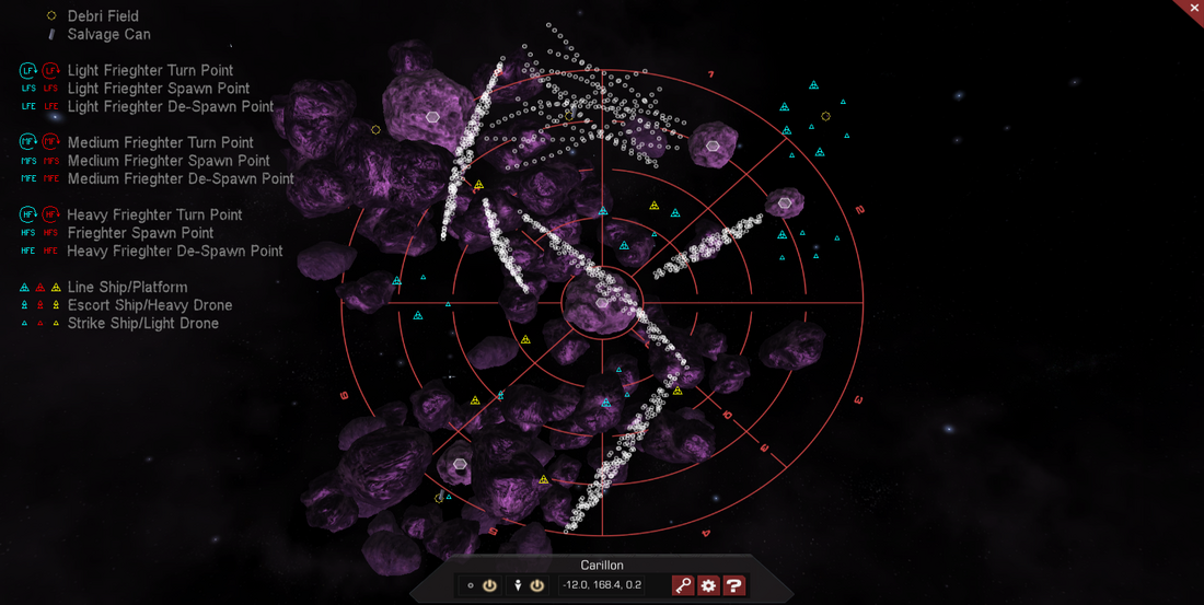 Carillon 3D System Map