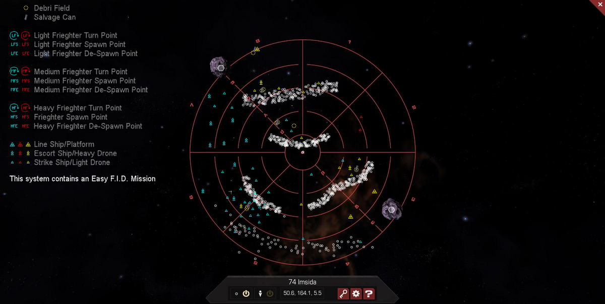 74 Imsida 3D System Map