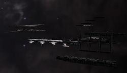 Cylon Fleet in 242 Apollid