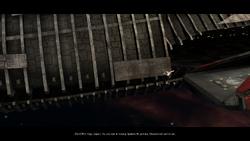 Galactica Cinematic Landing Cut Scene Image No 01