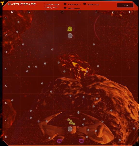 Battlespace System Map