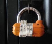 Number password lock