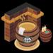 Wine Cask Bath