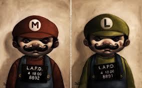 Evil Mario Bros