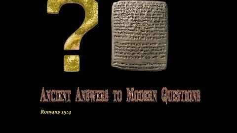 Ancient Answers to Modern Questions