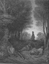 Dore 40 Matt26 Jesus Prays in the Garden
