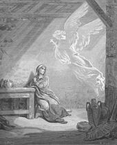Dore 42 Luke01 The Annunciation to Mary