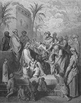 Dore 41 Mark10 Jesus Blesses Little Children