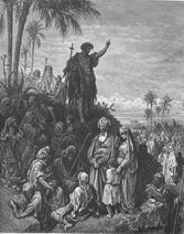 Dore 41 Mark01 John the Baptist Preaches in Wilderness