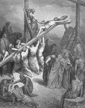 Dore 40 Matt27 The Erection of the Cross