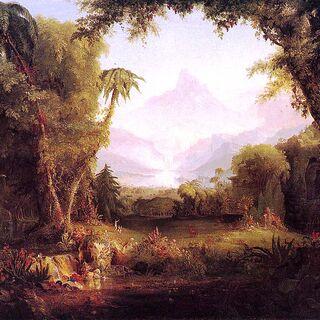 The Garden of Eden by Cole Thomas (1828)
