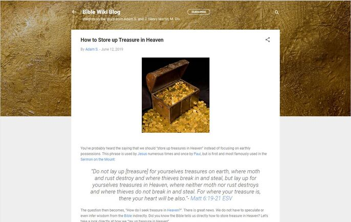 New Blog Screenshot 2