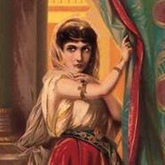 A depiction of Jezebel
