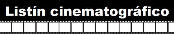 Listín cinematográfico