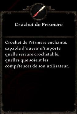 Crochet de Prismere