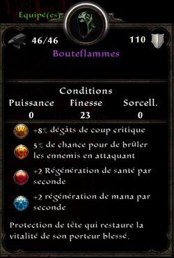 Bouteflammes stats