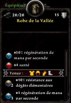 Robe de la Vallée