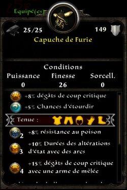 Capuche Furie
