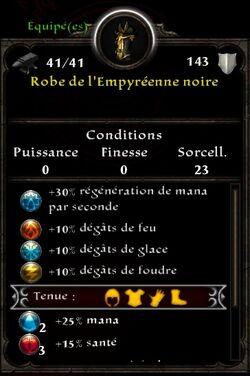 Robe Empyréenne