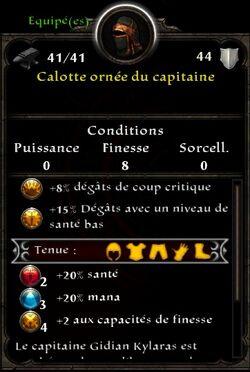 Tete capitaine