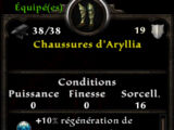 Chaussures d'Aryllia