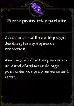 Pierre protectrice parfaite