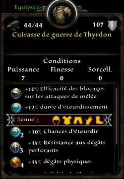 Cuirasse thyrdon