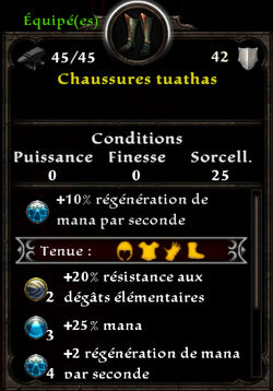 Chaussures tuathas