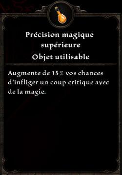 Précision magique supérieure