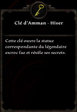 Clé d'Amman - Hiver