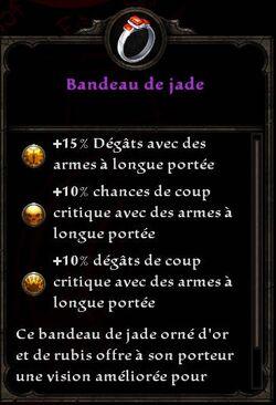 Bandeau de jade