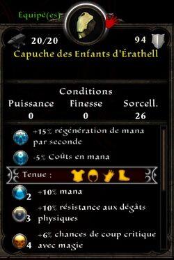 Capuche Erathell