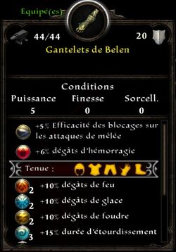 Gants Belen