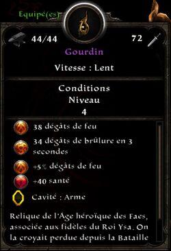 Gourdin stats