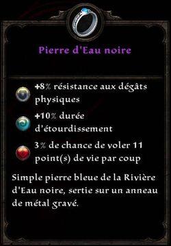 Pierre d'Eau noire