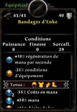 Bandages d'Enke