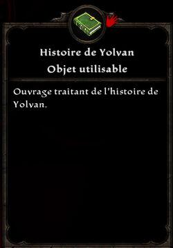 Histoire de Yolvan