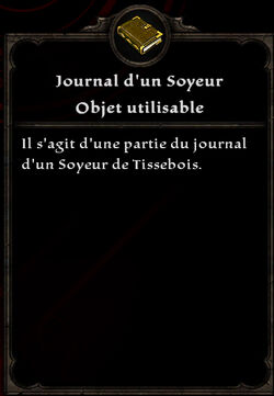 Journal d'un Soyeur