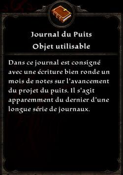 Journal du Puits