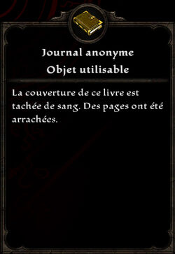 Journal anonyme