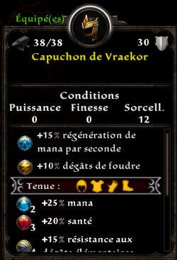 Capuchon de Vraekor