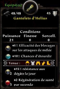 Gantelets d'Helius