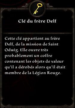 Clé du frère Delf
