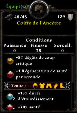 Coiffe de l'Ancêtre
