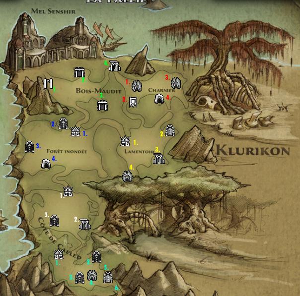 Klurikon localisation
